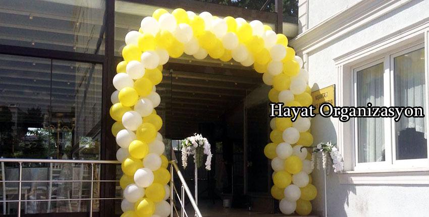 balon süsleme düğün organizasyonu