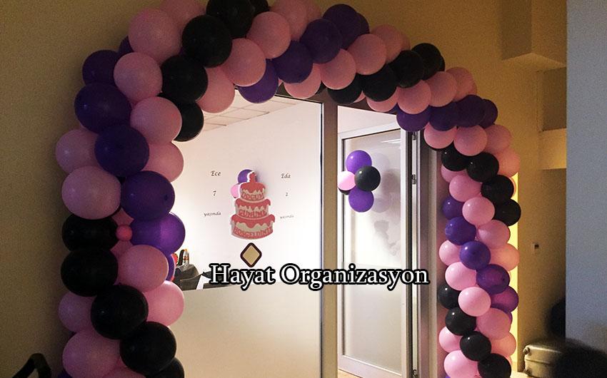 süsleme organizasyonu balon süsleme
