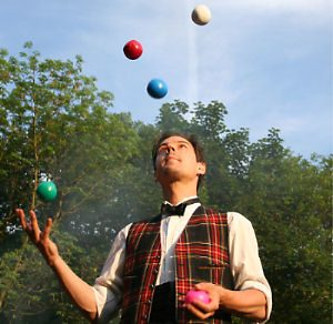 jonglör gösterileri