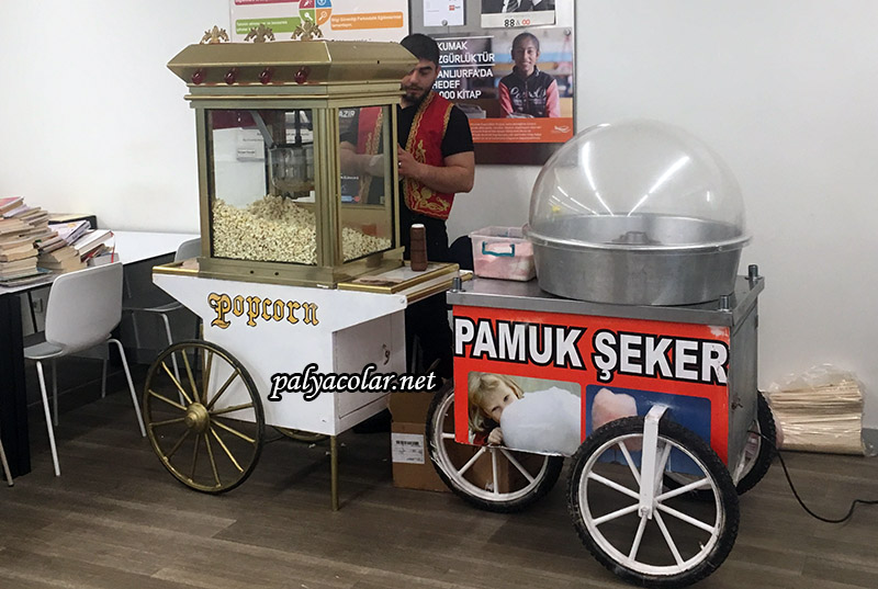 pamuk şeker arabaları ücretleri