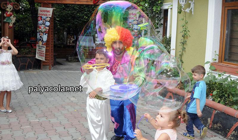 palyaço balon şov