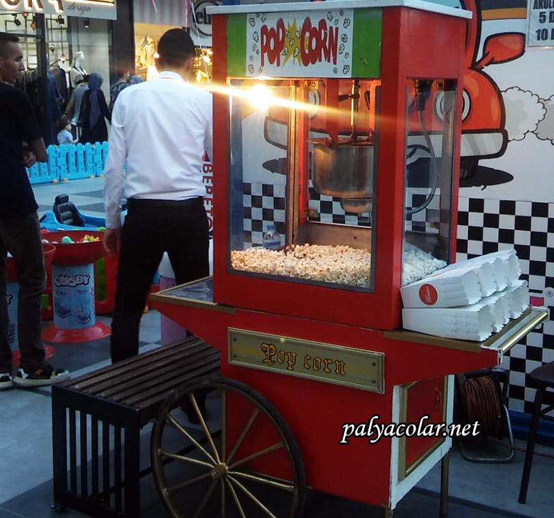 en kaliteli popcorn arabası hizmeti