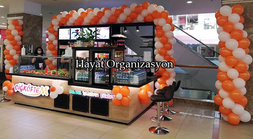 dükkan ve mağaza açılışı balon süsleme